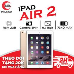 Máy tính bảng Apple IPAD AIR 2 (Bản 4G+Wifi ) Máy Zin Ram 2Gb Chip A8X mạnh mẽ Màn Hình 9.7 inch full HD Cảm biến vân tay MR CAU - IPAD AIR 2