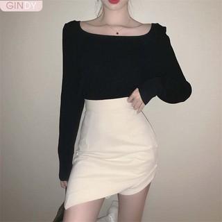 Chân váy ngắn nữ Gindy cạp cao kèm đai chân mẫu mới nhất hàng thiết kế - V10072 thumbnail