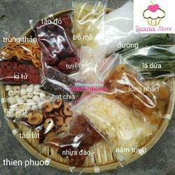 (giá dùng thử)1 set nguyên liệu nấu chè dưỡng nhan 400G