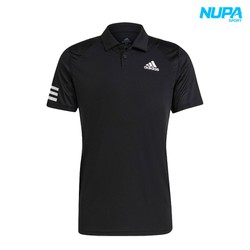 [ÁO TENNIS CHÍNH HÃNG] Áo Polo Tennis Nam A.d.i.d.a.s Club 3Str Polo- Black