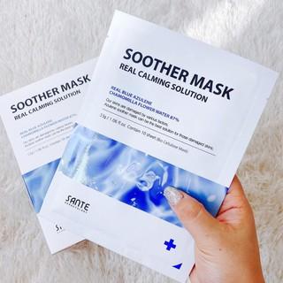 Mặt nạ phục hồi số 1, làm dịu, cấp ẩm, tái tạo da Soother Mask Real Calming Solution - sp1359 thumbnail
