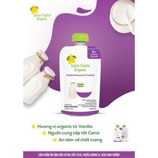 Ăn dặm hữu cơ Ngôi sao nhỏ - Little Etoile Organic vị Vanilla (T8 2021) - LEO_Vani thumbnail