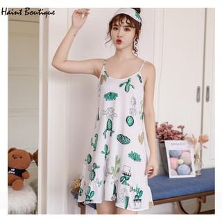 Váy 2 dây, váy mặc nhà Haint Boutique đuôi cá, chất vải mềm Vn26 - vn26 thumbnail