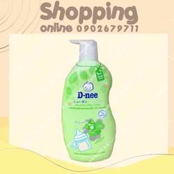 Nước rửa bình sua Dnee Organic Thái - 620ML