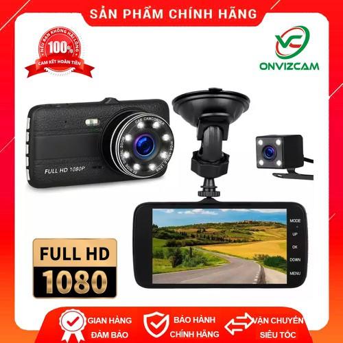[ Gía hủy diệt ] Camera hành trình ô tô X002 ( Cam trước 1080P – Cam sau 720P) – ống kính kép siêu bền – Ngôn ngữ Tiếng Việt