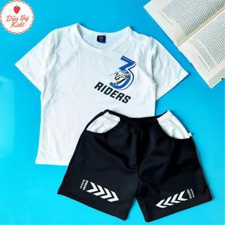Bộ quần áo Bé Trai Kaito in chữ đơn giản cho bé từ 18 đến 32 kg - 6410_45344082 thumbnail