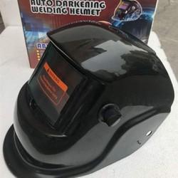Mũ hàn tự động - Mũ hàn điện tử mắt kính thông minh tự động điều chỉnh thang số lọc sáng