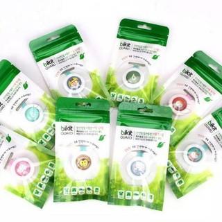 Kẹp chống muỗi Bikit Guard cho bé - chiết xuất 100% tinh dầu chanh sả tự nhiên Hàn Quốc - Kẹp chống muỗi Bikit Guard cho bé thumbnail