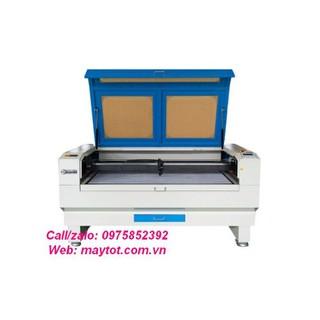 Máy khắc laser model YH-1490D gia công các vật liệu phi kim như da, vải, pha lê, thủy tinh hữu cơ, ngọc, gỗ, giấy,cao su - 2002 thumbnail