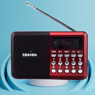 Đài kiêm loa nghe nhạc Craven CR65 - CR65 thumbnail