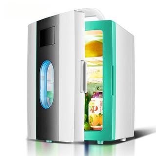 Tủ lạnh mini 10 lít SAST ST-10LTủ hâm nóng làm lạnh Dùng cho cả gia đình và ô tô Tủ đựng mỹ phẩm nước giải khát - SAST ST-10L thumbnail