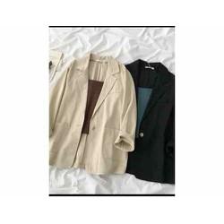 Áo Khoác vest blazer phong cách Hàn quốc.