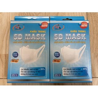 Hộp khẩu trang 5D Mask dùng 1 lần dành cho người lớn - KHAUTRANG5D thumbnail
