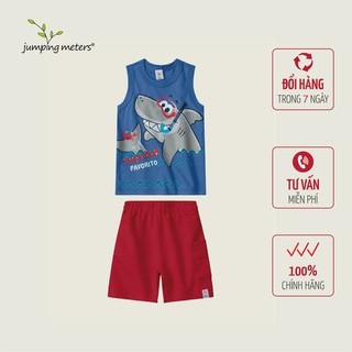 Bộ quần áo hè bé nam họa tiết cá mập TC3 Jumping meters - 6420_45362051 thumbnail
