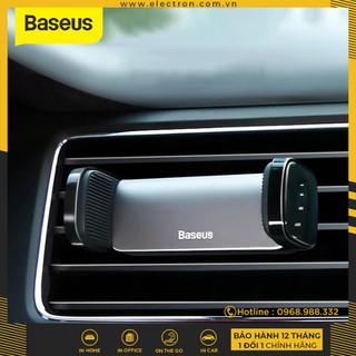 Bộ đế giữ điện thoại dùng cho xe hơi Baseus Steel Cannon Air Outlet Car Mount (nhỏ gọn , gắn khe gió) - SUGP thumbnail