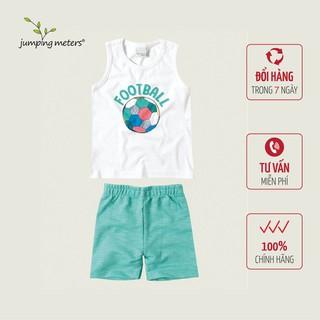 Bộ quần áo hè bé nam họa tiết bóng đá TC5 Jumping meters - 6420_45362887 thumbnail