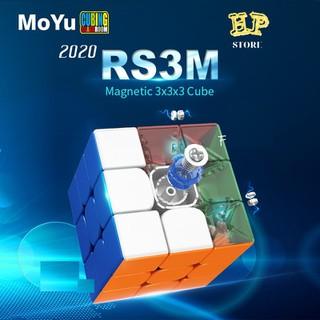 Rubik 3x3 Nam Châm MoYu RS3M 2020 robik nam cham rubik 3x3x3x3x3 - rubiknamchamblanche thumbnail