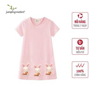 Váy bé gái màu hồng hoạ tiết thỏ con V5 Jumping Meters - 6398_45361373 thumbnail