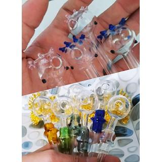óng kính thủy tinh có thể tái sử dụng, trang trí bàn tiệc sinh nhật cưới, - giao 1 ống ngẫu nhiên thumbnail