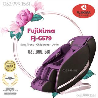 [HOT] FUJIKIMA G579 đỉnh cao công nghệ ghế massage toàn thân xương khớp - Gọi ngay 032.999.1561 nhận mã miễn phí vận chuyển - G579 thumbnail