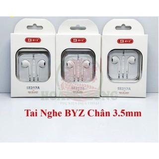 Tai nghe BYZ-SE217A cho iphone xài jack dài 3.5mm - Tai nghe BYZ-SE217A cho iphone thumbnail