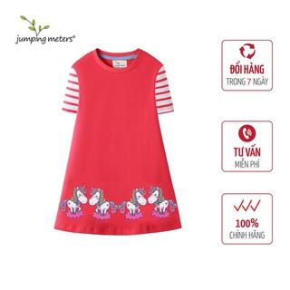Váy hè bé gái họa tiết ngựa trắng HN6 Jumping Meters - 6398_45400757 thumbnail