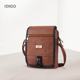 Túi đeo chéo nam nữ phom đứng nắp gập IDIGO UB2 - 2006 - 00 - UB2 - 2006 - 00 thumbnail