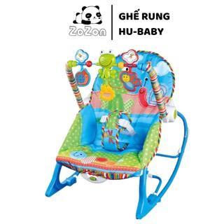 Ghế rung phát nhạc cho bé HuBaby- Ghế rung phát nhạc cho bé HuBaby- Ghế rung bập benh tự phát nhạc - ghế rung thumbnail