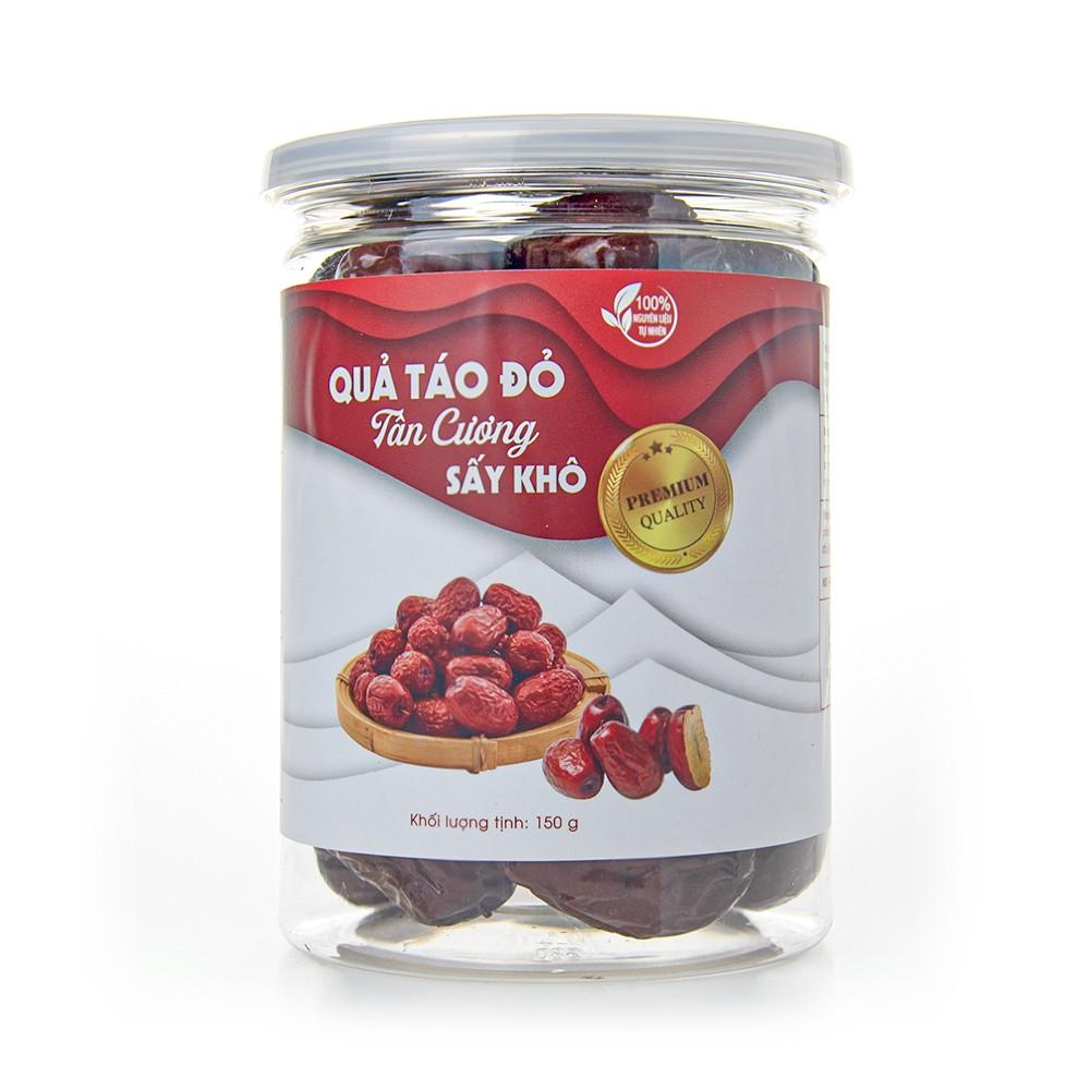 [Hạt Nhập Khẩu] Táo Đỏ Tân Cương Loại 1 Nhập Khẩu Cao Cấp Fami Nuts Hủ Nắp Nhôm 150g - FAMINUTS [HSD: 9 Tháng]