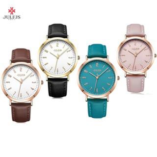 Đồng hồ nữ Julius JA-1017 dây da size lớn - 1374_45829119 thumbnail