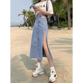 Chân váy jean nữ xẻ đùi - CJN01 thumbnail