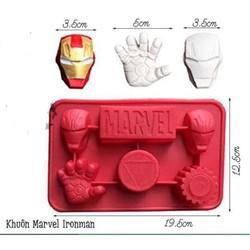 Khuôn Silicon Vĩ Siêu Nhân Marvel Iron Man