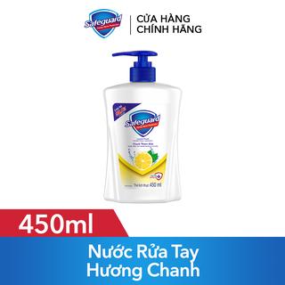 Nước Rửa Tay Safeguard Lemon Fresh Chanh Thơm Mát 450ml - 4902430805339 thumbnail