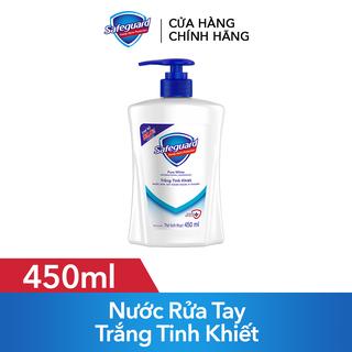 Nước Rửa Tay Safeguard Trắng Tinh Khiết 450ml - 4902430805322 thumbnail