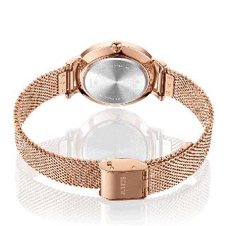 Đồng hồ nữ Julius JA-1164LG dây thép mặt số in hoa - JA-1164LG 3