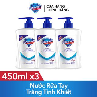 Combo 3 Nước Rửa Tay Safeguard Trắng Tinh Khiết 450ml - TUSG00015CB thumbnail