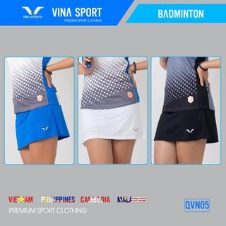 Quần váy thể thao nữ, váy thể thao , Dáng Đẹp , Co giãn 4 chiều QVN05 - Vina Authentic - 1903_46147788 thumbnail