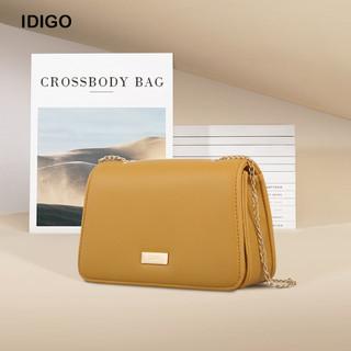 Túi đeo chéo nữ nắp gập hình thang phối xích nữ tính IDIGO FB2 - 3368 - 00 - FB2 - 3368 - 00 thumbnail