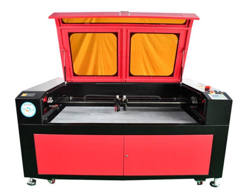 máy cắt laser 1610 hiệu zh laser 130w hai đầu - máy cắt laser 1610 1