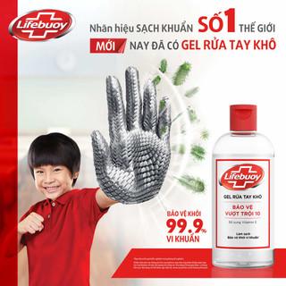 Gel rửa tay khô Lifebuoy nắp 235 ml - SP002 thumbnail