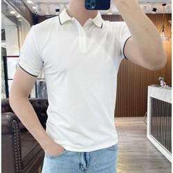 Áo Phông Nam Có Cổ bẻ Tay Ngắn Thun Cotton Polo Nam đẹp Cao Cấp giá rẻ FAVITI AT02