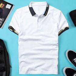 Áo thun nam POLO thiết kế vải cá sấu cotton cao cấp ngắn tay