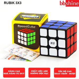 Rubik 3x3 Qiyi Sail W, Rubic 3x3 tầng Khối lập phương ma thuật xoay mượt bẻ góc cực tốt siêu bền và chắc chắn BBShine DC052 - DC052 thumbnail