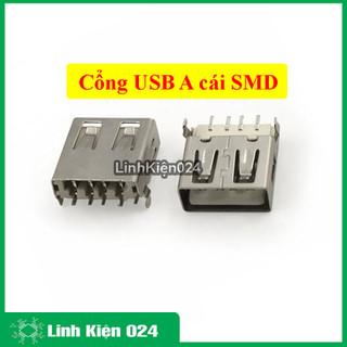 Cổng USB A - Cái SMD - SP01655 thumbnail