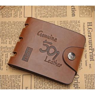 [MIỄN PHÍ GIAO HÀNG] Ví nam da bò đẳng cấp, mạnh mẽ, chính hãng Bailini Genuine Leather, có khóa kéo, bảo hành 2 năm - BAILINI thumbnail