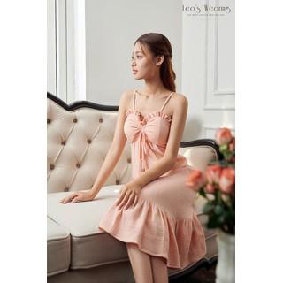Đầm Maxi Nữ LEOS WEARING Đầm Đuôi Cá Linen Cổ Tròn Premium - A71 - M 12 thumbnail
