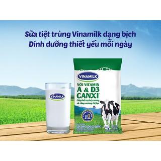 Combo 7 túi sữa tươi dinh dưỡng tiệt trùng Vinamilk A&D3 220ml - 8934673500357-7 thumbnail
