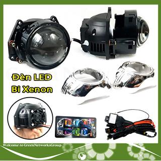 Đèn LED Bi-Xenon 12V 35W cho xe Ô Tô siêu sáng Greennetworks - 0101100205217 thumbnail