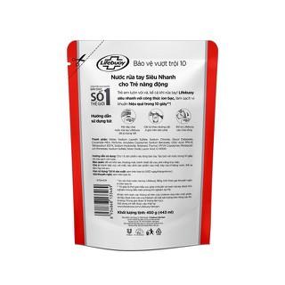 Túi Nước Rửa Tay Lifebuoy 450g - Túi Nước Rửa Tay Lifebuoy 3