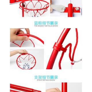Trụ bóng rổ 1.5m + 1 quả bóng - 868_46330846 2